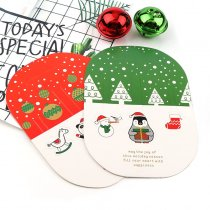 3D Pop Up Merry Christmas Series Santa's Paper Greeting Postcards