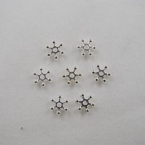 Top quality copper rhinestone beads  spacer-beads   7mm 2000pcs