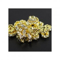 3*6mm  5000 pcs Top quality copper rhinestone beads  spacer-beads