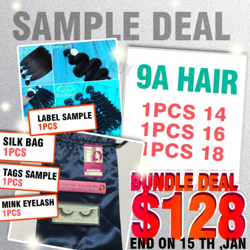 9A HAIR SAMPLE DEAL