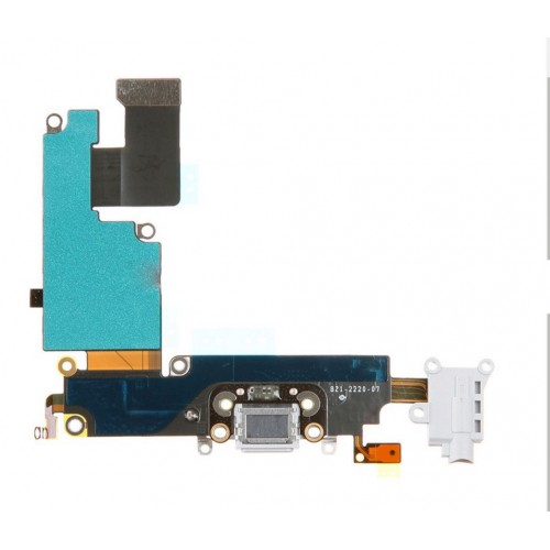 detailed look 69952 1bc0e iPhone 6S Plus Charging Dock Flex Cable White