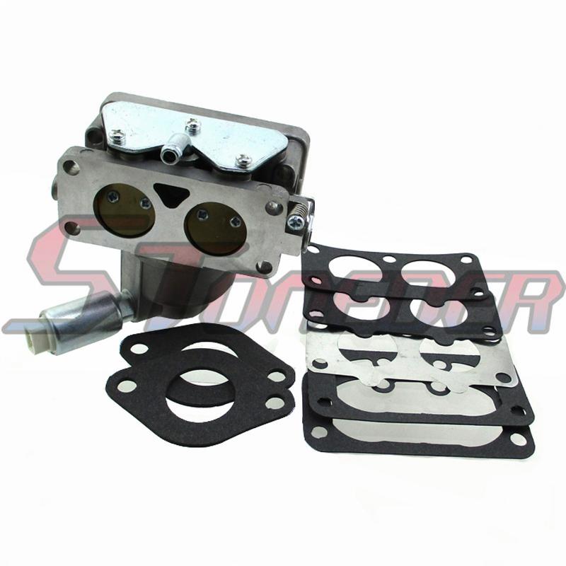 Manual Choke Carburetor For Briggs & Stratton 791230 799230 699709 499804  Intek V-Twin Engines 20HP 21HP 22HP 23HP 24HP 25HP