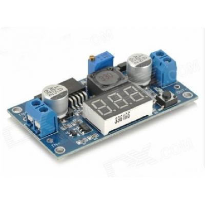 DC-DC Boost Converter Step Up Voltage Digital Doltmeter Display LM2577 Power