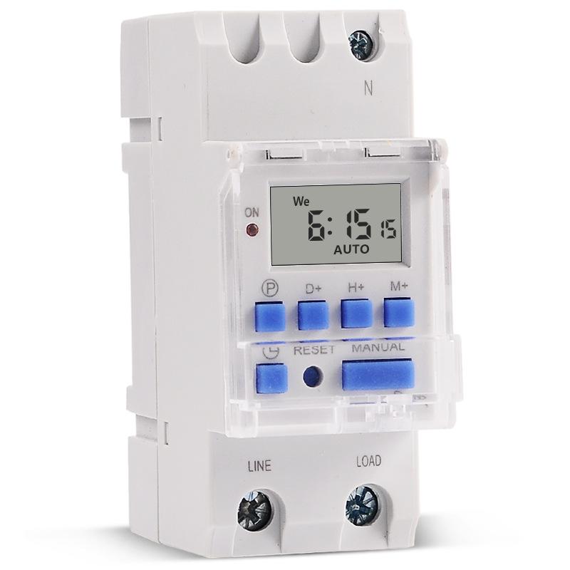 SINOTIMER High Power 7 Day Digital Programmable 220V 30A Timer Switch Controller