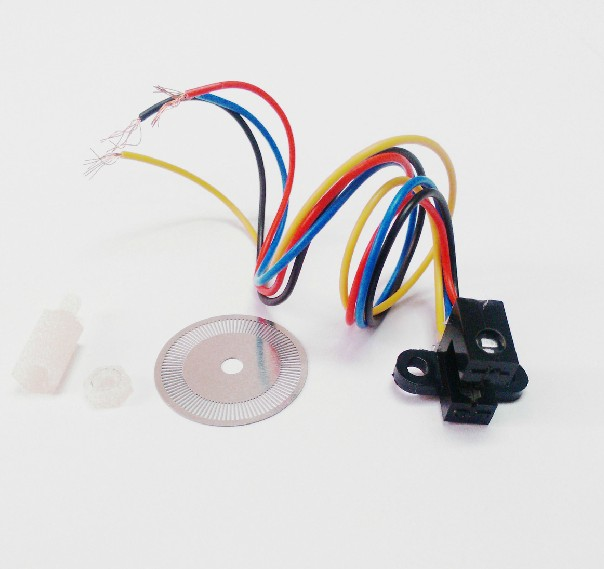 Speed Sensor Photoelectric Encoder Code Disk Encoder Disk for C B D E Smart  Car