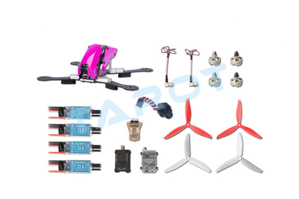 US$ 146.96 - Tarot 280 Through FPV Quadcopter Drone Combo Set Carbon ...