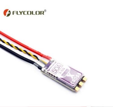Flycolor X-Cross Blheli_32 50A 3-6S ARM 32bit DSHOT1200 Brushless ESC for  RC Racer FPV Racing Drone