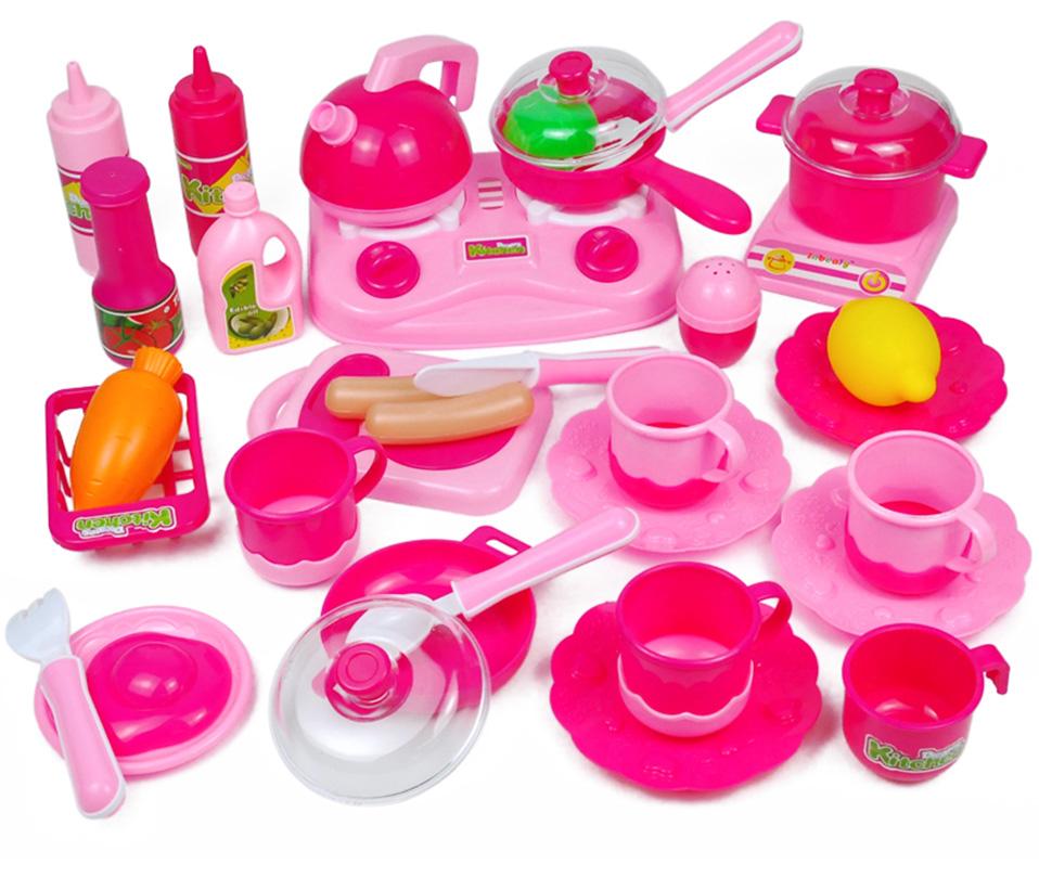 7-15Pcs Plastic Simulation Pretend Play Game Toys Utensils Fruit Vegetables Cut