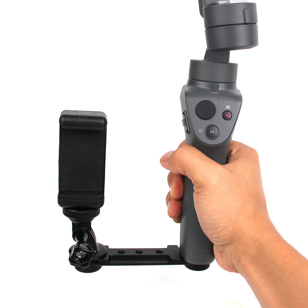 01b7a41e8e8caf US$ 7.65 - Mobile Phone / Camera Holder Handheld Stabilizer Expands Bracket  Mount Adapter Kit for DJI OSMO Mobile 2 Accessories - www.xt-xinte.com