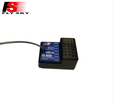 Flysky FS-GT5 2.4G 6CH Transmitter with FS-BS6 Receiver Built-in Gyro Fail-Safe