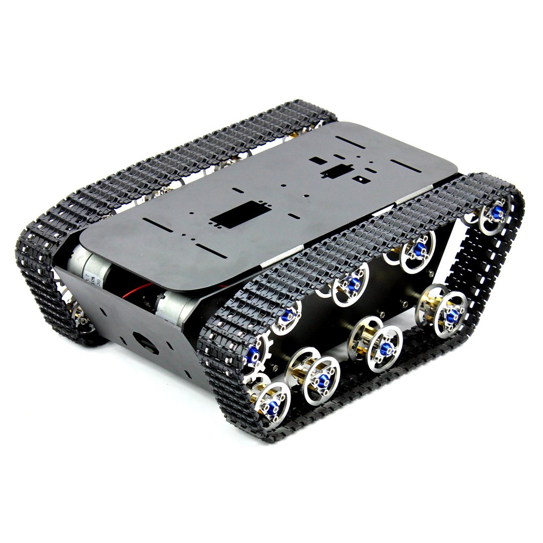 Us 63 6 Feichao Smart Robot Car Tank Chassis Kit Aluminum Alloy