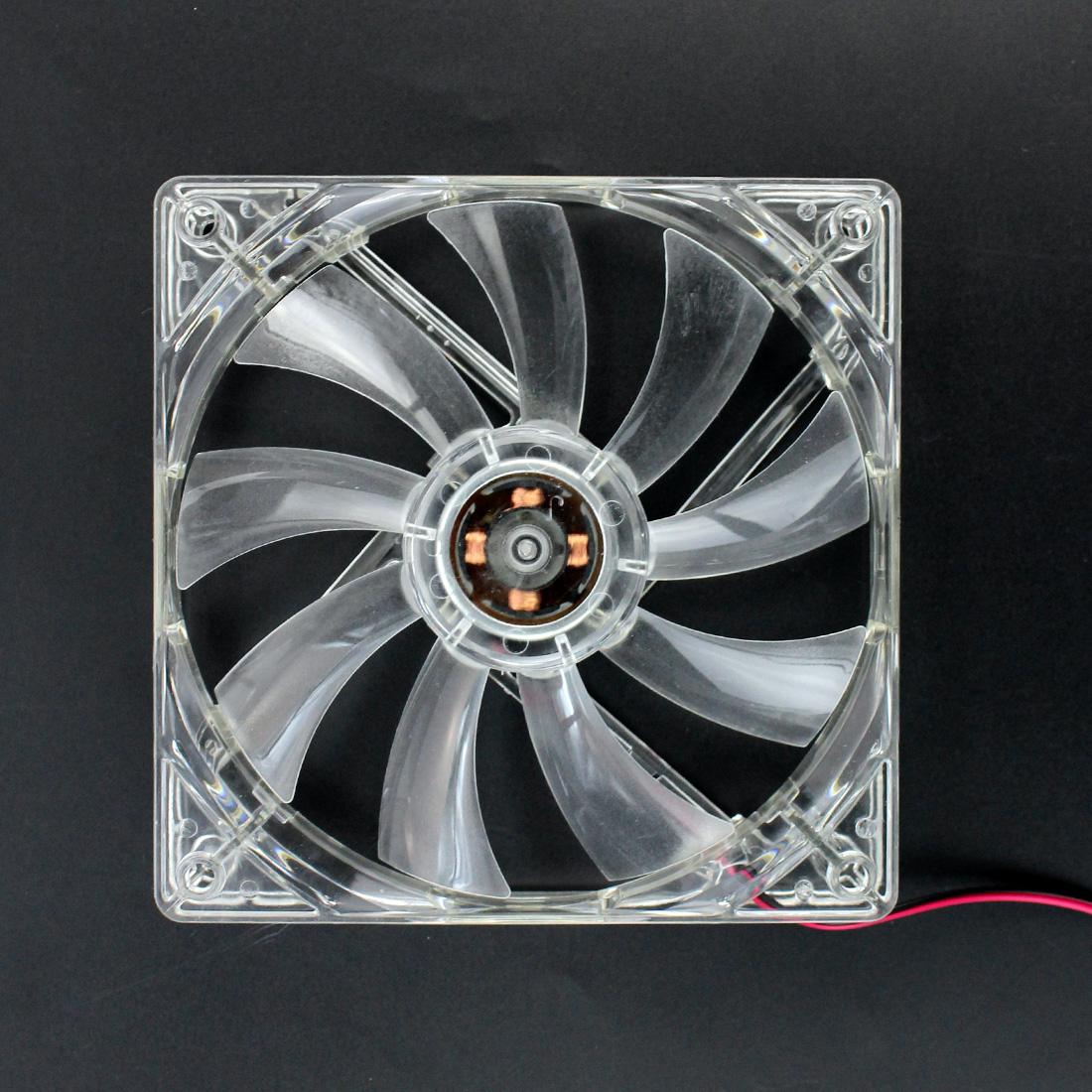 XT-XINTE Large 4Pin 12cm PC Computer fan Cooler  20dBA 12V DC Heatsink for