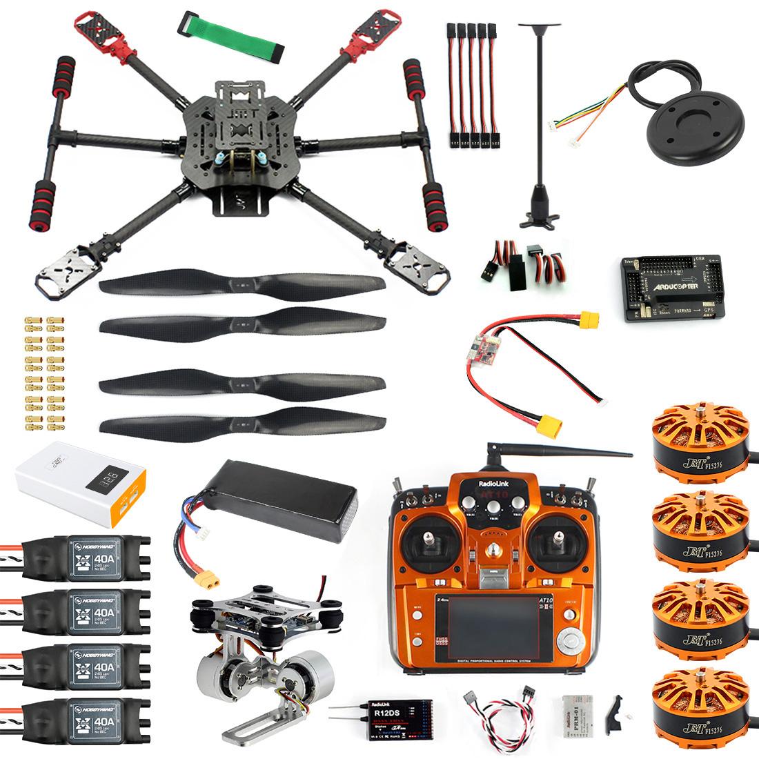 diy gps drone 2 4ghz 10ch x4 560mm umbrella foldable rc quadcopter 4-axis  arf unassemble apm w/ gimbal fpv quadcopter item no: kf24432-b