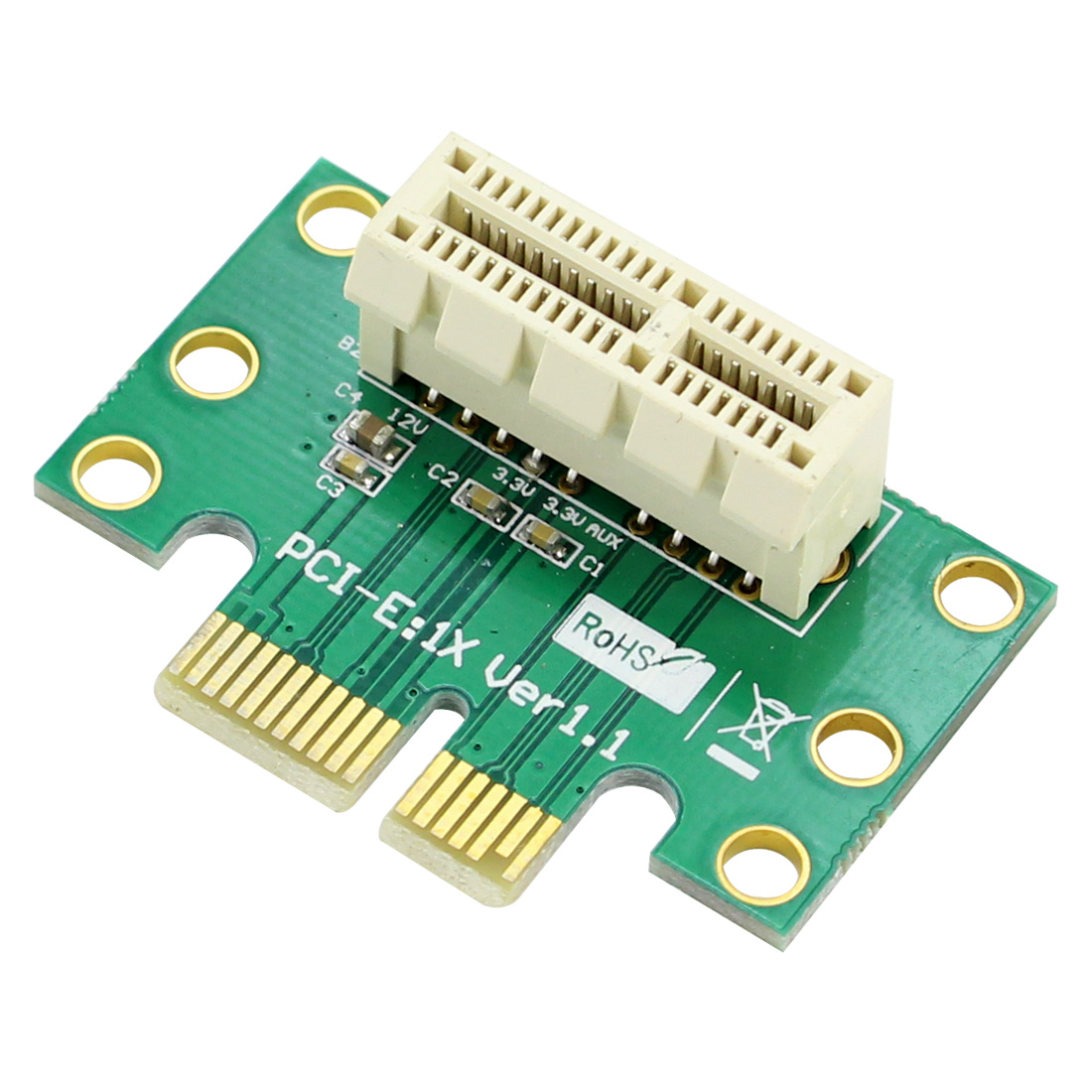 PCI-E Express 16X 90 Degree Adapter Riser Card for 2U Computer Chassis