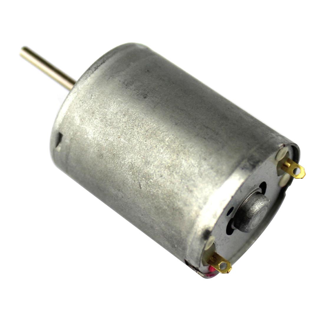 4PCS Feichao Long Axis 370 Motor Model Electric Motor High Torque Car Model  Motor Micro DC Motor 8V
