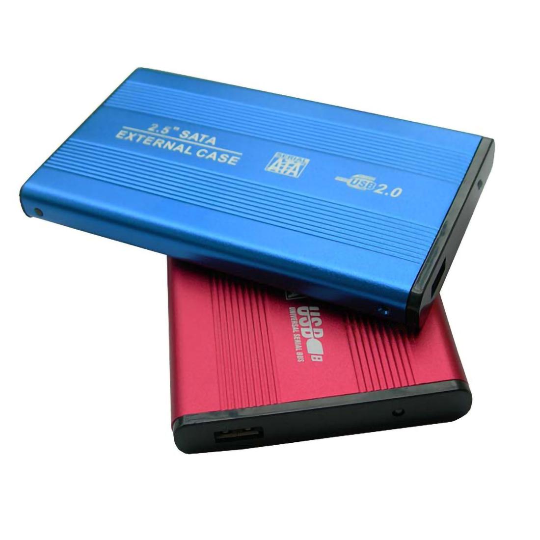 "Hot USB 20 External 25/"" IDE Hard Drive Notebook Box Laptop HDD Enclosure Case US"
