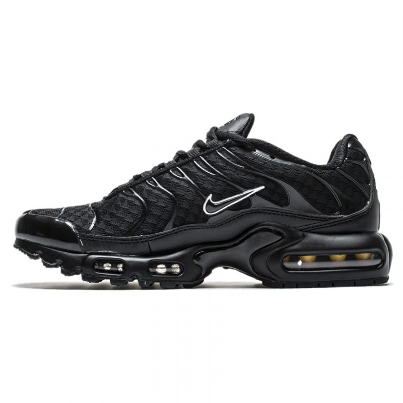 separation shoes 77595 3f30c ... ireland us 85 nike air max plus tn ultra all black footarget 7e475 f5d18