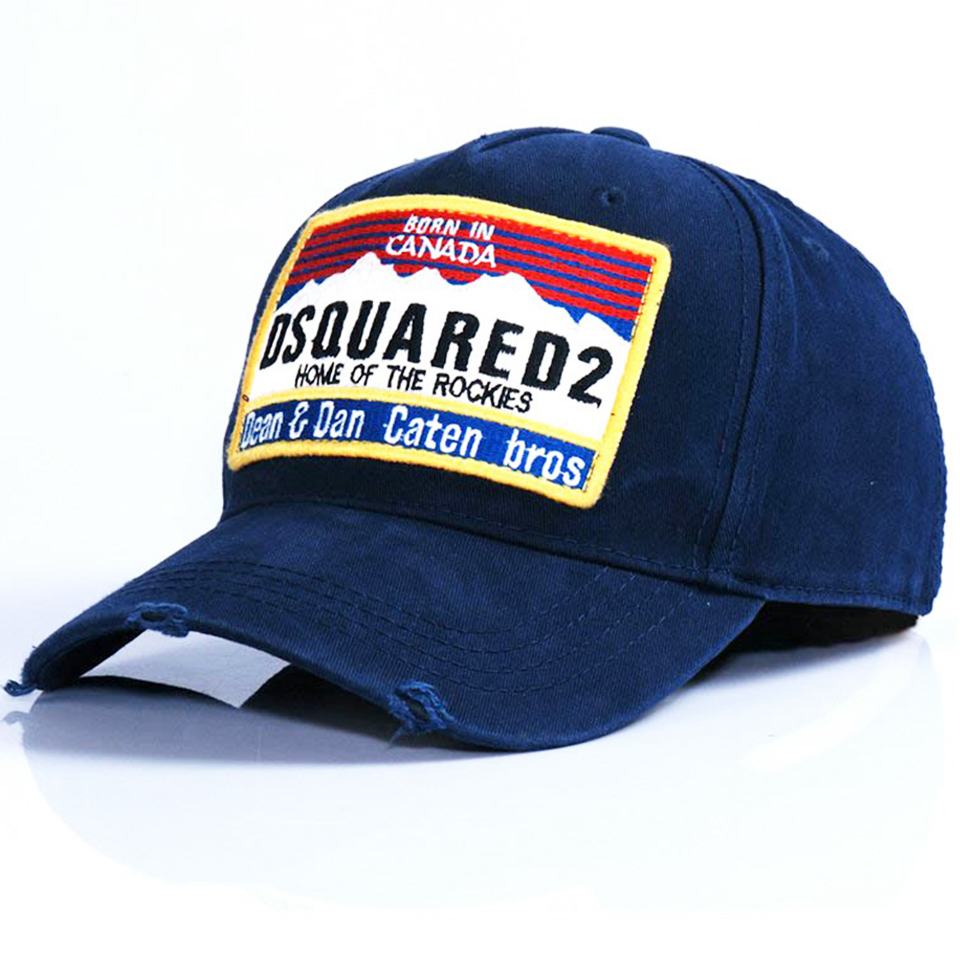 Born in Canada cap - Blue Dsquared2 6ApdtopZZ
