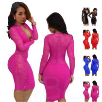 CD016 sexy bodyon dress