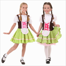 711  Oktoberfest beer maid costume Heidi Ale Girl Waitress Outfi