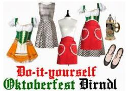 OKTOBERFEST Costume GERMAN HEIDI Fancy Dress Up DIRNDL Beer Maid cosplay dress