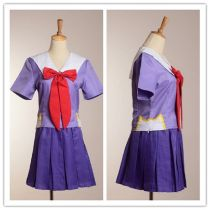 Future Diary Cosplay Costume Mirai Nikki 2nd Gasai Yuno Gasai School Uniform
