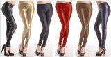 PL100 faux leather legging