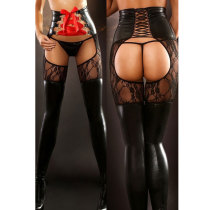 1074 sexy leather lingerie
