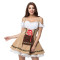31643 beer maid costume