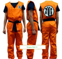 Anime Dragon Ball Z GoKu Cosplay Costume Set Fancy Party clothing