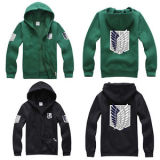 Attack On Titan Anime Survey Legion Hooded Sweatshirt Cosplay Hoodie Coat Jacket