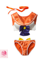 ZY1021-7 sailor moon costume  bra set