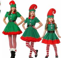 xs-5xl 2018 Christmas Elf Costume