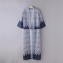 s6001 Fashion Womens Kimono Blouse Coat Boho