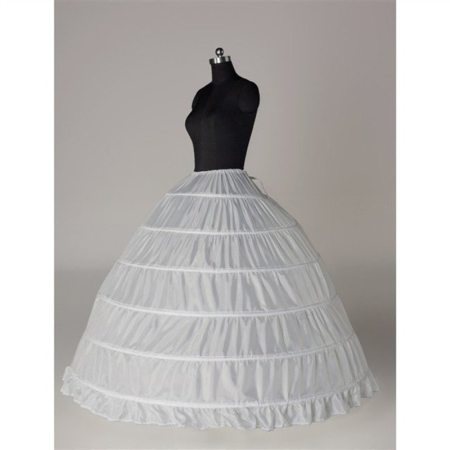 6 Hook Royal Gown Petticoat Palace Dance