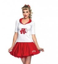 5163 cheerleader costume