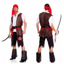 069 man  Pirate Vixen Girl Costum