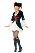 8163-2 eluxe pirate costume
