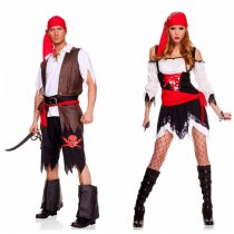 LQZ069 set Pirate Vixen Girl Costum