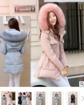 777 m-3xl Autumn Winter Jacket Women 2015 Parkas 87