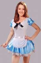 8329   Sexy Alice in wonderland Fancy Dress Costume