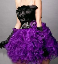 AME3771purple dress