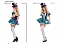 5072 MAD HATTER COSTUME