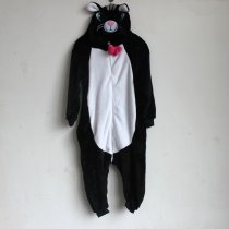 K-021 black cat onesie 85-125