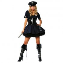 ZY218(8881) police costume