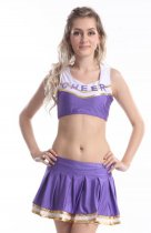 8136 purple schoolgirl costume