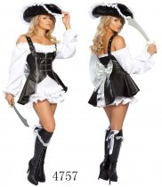 C4757 pirate costume