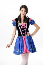 3014 Ladies Oktoberfest Costume German Beer Maid Woman Lederhos