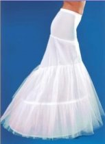 Bridal Accessories fishtail wedding dress petticoat crinoline 2T wedding veils