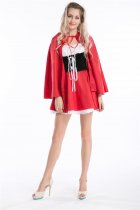8227 red  riding hood costume